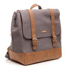 Grey Marindale Backpack Diaper Bag