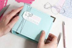 30 Tage Glücklich | Mini Album by Nikki Kehr Nimena #scrapbook #scrapbooking #minialbum