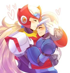 Losers by Chocoriina on DeviantArt Keiji Inafune, Megaman Zero, Megaman Series, Video Game Anime, Family Album, Anime Angel, Lovey Dovey, Ship Art, Wattpad