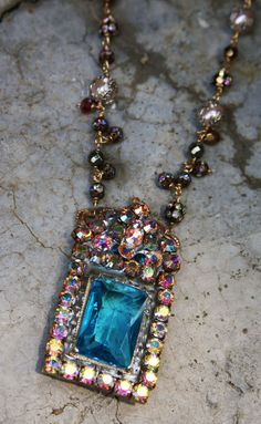 Prince George Royal Baby Necklace - SOLD - Swarovski  hand wired, pearls