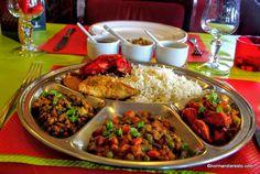 Assiette Thali au restaurant Indien Namasty India à Le Havre.   #restaurant #indien #restaurantindien #indianfood #normandy #normandie #hallalfood #thali