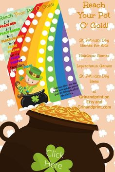Looking for fun St Patricks Day Games for kids? Our St Patricks Day Party Ideas include this easy to print from home or office supply store Rainbow Game. Having a St Patricks Day Birthday Party? This would be perfect to keep the kids entertained. If you are looking for Leprechaun Games Activities for your next St Patricks Day Party then you came to the right place. #stpatricks daygames #stpatricksdayideas #stpatricksdayactivities #stpatricksdayforkids #partygames #stpatricksdayparty #holiday St Patrick's Day Games, Games For Kids, Fun Games, Printable Invitations, Party Printables, Printable Tags, Leprechaun Games, Rainbow Games, Kids Party Tables
