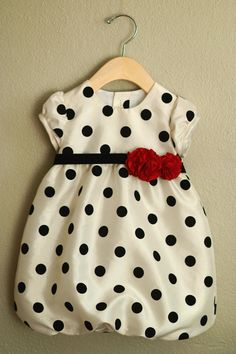 Beautiful polka dot Oliver + S Bubble Dress with Sleeves