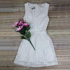 Its summertime and everyone needs that LWD! (little white dress) Brides-to-be this is a must have for your bachelorette party and upcoming showers! #bridetobe #summer #wedding #lwd #emiliebs #frankenmuth