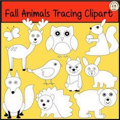 This clip art set contains the following animals: Bear, Bird, Butterfly, Deer, Fox, Hare, Hedgehog, Owl, Squirrel, Сhipmunk.