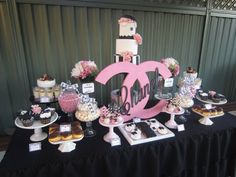 Archives - Page 170 of 187 - Baby Shower Ideas - Themes - Games Bridal Shower Cakes, Baby Shower Favors, Baby Shower Cakes, Baby Shower Themes, Baby Shower Decorations, Shower Ideas, Chanel Birthday Party, Chanel Party, 50th Birthday Party