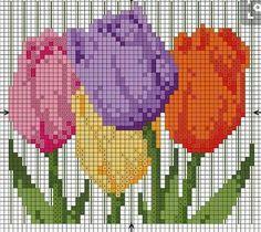 mochila bag crochet pattern free ile ilgili görsel sonucu Cross Stitch Rose, Cross Stitch Flowers, Cross Stitch Charts, Mochila Crochet, Bag Crochet, Diy Embroidery Shirt, Hand Embroidery, Modern Cross Stitch Patterns, Cross Stitch Designs