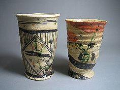 Yashichida Narumi Oribe Cup Set by Suzuki Goro