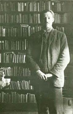 Hemingway Inside Shakespeare & Company