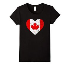 Women's Vintage Canadian Flag Canada Day Maple Leaf Heart T-Shirt Medium Black Womens Clothing Online Canada, Discount Womens Clothing, Canada Day Shirts, Easter T Shirts, Fashion Quotes, Vintage Ladies, Fashion Outfits, Clothes For Women, Flag