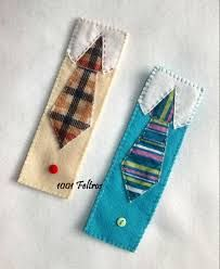 Marcador de paginas de gravata