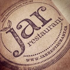 Jar Restaurant Stamp #famousbicycle