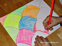 Math Art Activity: Tessellations. Great way to promote spatial and mathematical intelligence!