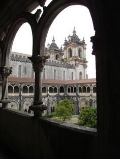 """Alcobaça Monastery, where Inês de Castro is buried - photo by Sarah Clitheroe Monastery mentioned in my book, """"Finding My Invincible Summer"""" - Muriel"""