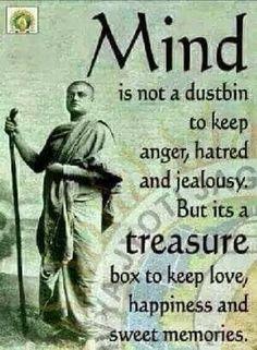 The mind is a treasure box