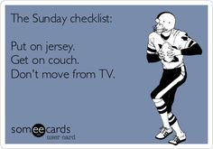 Sunday Checklist, oh how we hope this offseason goes quickly. #colts