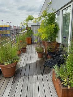 Roof Top, Patio, Outdoor Decor, Plants, Ideas, Home Decor, Balcony, Decoration Home, Room Decor