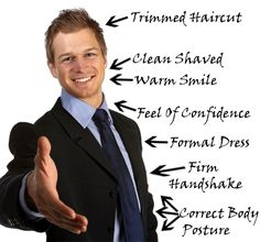 Nah berikut ini sebagian kiat wawancara kerja yang bagus, yang perlu Anda amati: 1.Observasi penampilan Bagaimanapun dikala pertama kali bersua, yang mereka lihat pasti dari segi penampilan secara khusus dulu. Rapikah pakaiannya, sopankah bajunya, bersepatu atau tak, bersih atau tak, bagaimana rambutnya, celana yang diterapkan bagaimana, dan masih banyak aspek yang diperhatikan dari penampilan.