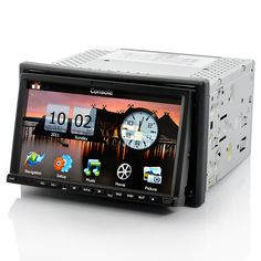 Car DVD Player - 2DIN, GPS, 800x480