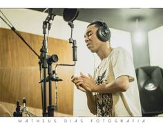 Gravações do cd #IGUALDADE do cantor Ray Santos.