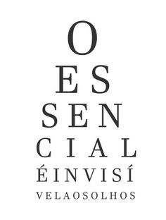 Quadro Essencial é invisível aos olhos