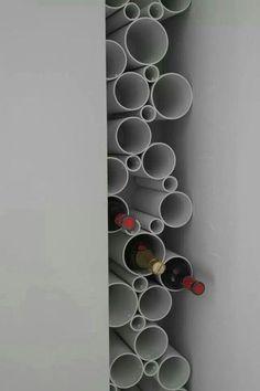Nu arunca resturile de tuburi din PVC, deoarece iti prezentam noi o multime de idei de a realiza obiecte decorative din ele