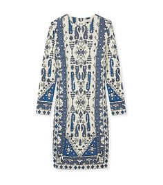 Tory Burch Matte Jersey Crewneck Dress