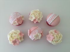 Vintage Lace Cupcakes by CakeyBakey Boutique
