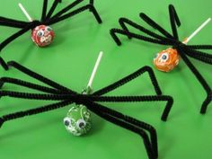 DIY Halloween : DIY Spider Lollipops