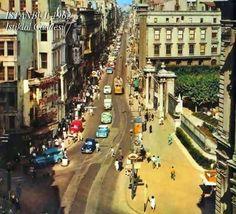 İstiklal Caddesi (1962) #istanlook #birzamanlar #nostalji #istanbul