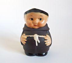 Goebel Friar Tuck Monk Creamer West Germany Hummel by TreasureCoveAlly on Etsy