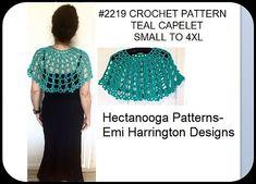 Ravelry: Summer Shawl pattern by Emi Harrington Crochet Capelet Pattern, Crochet Shawl, Basic Crochet Stitches, Easy Crochet, Crochet Tops, Cape Pattern, Crochet Hook Set, One Piece, Crochet Patterns For Beginners
