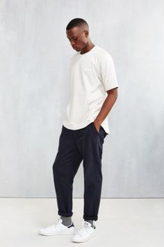 adidas Oversize Pocket Tee - Urban Outfitters