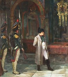 Andrei Fedorov. The Emperor Napoleon in the Moscow Kremlin.