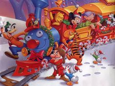 Borboleta Azul: Natal Disney