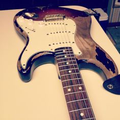 My guitar had a moment. #fender #stratocaster