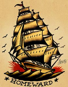 vintage tattoos tattoo retro ink pin up ship old school anchor ...