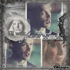 I'll wait forever! Klaus And Caroline, Vampire Diaries, Photo Editor, First Love, Waiting, Animation, The Vampire Diaries, First Crush, Puppy Love