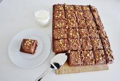Sjokoladekake i langpanne med kaffeglasur Meat, Food, Essen, Meals, Yemek, Eten