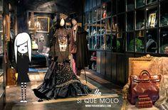 Si te consideras única y amante de la #belleza... debes conocer @poisonmadrid, una #boutique de decoración barroca y #gótica ¡con artículos de #lujo!