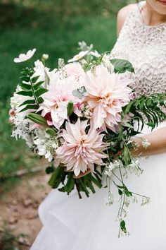 Dahlia bouquet | Wedding & Party Ideas | 100 Layer Cake