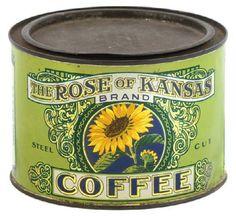 Rose of Kansas Coffee.