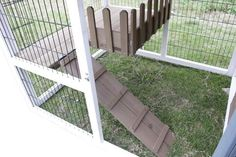 """Hutches & Cottontails Bunny Barn 3'7""""h x 4'11""""w x 2'11""""d item #260-25"""