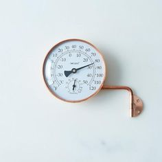 Brass Weather Station: The forecast looks sunny.  #food52