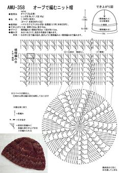 Crochet Beret, Crochet Mask, Crochet Chart, Crochet Motif, Crochet Patterns, Sombrero A Crochet, Bag Pattern Free, Crochet Projects, Hand Knitting