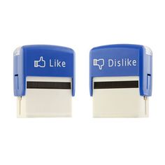 Like/Dislike Stamps 2 Pack now featured on Fab.