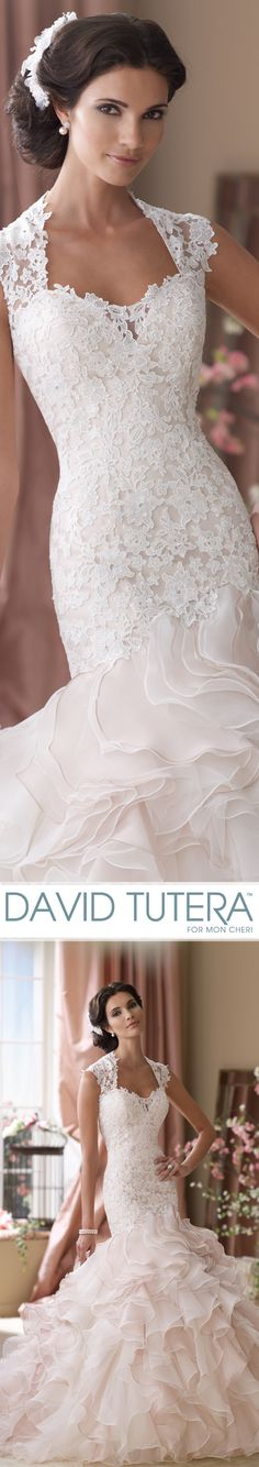 Style No. 114276 ~ Crawley Wedding Dresses 2014 Collection – Venise lace…