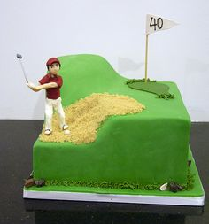Best birthday party decorations for adults men funny groom cake ideas - Cake Decorating Cupcake Ideen Birthday Cakes For Men, Pool Birthday Cakes, Birthday Party Decorations For Adults, Funny Birthday Cakes, Man Birthday, Birthday Recipes, Birthday Ideas, Happy Birthday, Golf Themed Cakes