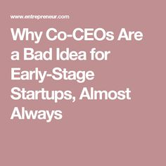 When building your organization from the ground up, it's best to assign employees (and co-founders) to specific roles to ensure smooth operations. Almost Always, Startups, Stage, Board, Planks