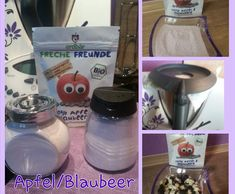 Rezept Apfel/Blaubeer Zucker von Iris' LilaLauneKüche - Rezept der Kategorie Grundrezepte